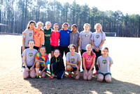 2016 Winter Soccer Practice with Mollie