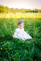 Chapel Hill  Child Photographer - Loves sunshine in her images!