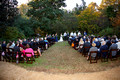 UNC Botanical Gardens Fall Wedding