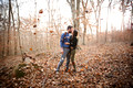Chapel Hill Photographer Winter Engagement Session